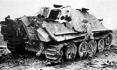 The Jagdpanther was a German tank destroyer; it had a fixed gun (i.e. no turret) and was based on the chassis of the Panther tank. To accommodate the gun the sides of the Panther tank were extended up to provide a roomy interior, while maintaining a very low profile. It was armed with the same long-barrelled 88 mm gun as the Tiger II, and a 7.92 mm machine gun in the hull (front glacis plate). Despite the limitations of vehicles without turrets (limited gun movement left/right) the…