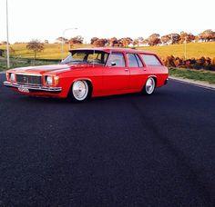 Red Holden Wagon, Holden Australia, Car Station, Aussie Muscle Cars, V8 Supercars, Dodge Magnum, Australian Cars, Shooting Brake, Luxury Suv