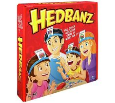 Buy Hedbanz Game at Argos.co.uk, visit Argos.co.uk to shop online for Board games, Board games, jigsaws and puzzles, Toys Quick Games, Fun Games, Party Games, Time Games, Guessing Games For Kids, Board Games For Kids, Kids Board, Family Reunion Games, Family Games