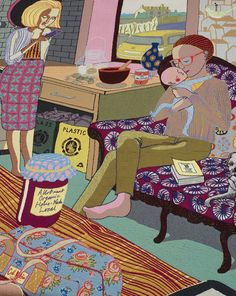 Grayson Perry, Silk Tapestry