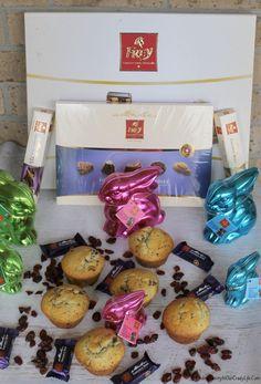 Dark Chocolate Muffins with Chocolat Frey Easter Basket Idea and Giveaway! ##IntroducingChocolatFreyNA #AD