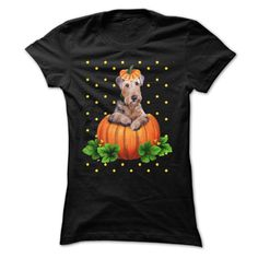 Airedales and Halloween T Shirts, Hoodies. Check price ==► https://www.sunfrog.com/Pets/Airedales-and-Halloween.html?41382 $19.99