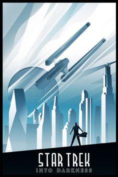 Star Trek Into Darkness - The 10 Best Alternative Film Posters Of 2013 - Design - ShortList Magazine