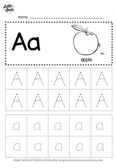 Free letter a tracing worksheets little dots education preschool and activities alphabet printable . Abc Tracing, Alphabet Tracing Worksheets, Printable Preschool Worksheets, Alphabet Writing, Preschool Writing, Preschool Letters, Abc Worksheets, Kindergarten Letter Worksheets, Free Alphabet Tracing Printables
