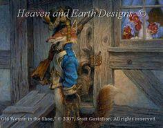 The Fox Guarding The Henhouse da Heaven and Earth Designs - Schemi Punto Croce - Ricamo - Casa Cenina