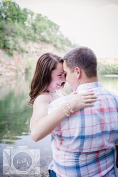 Meads quarry engagement pictures by Knoxville wedding photographer, Amanda May Photos