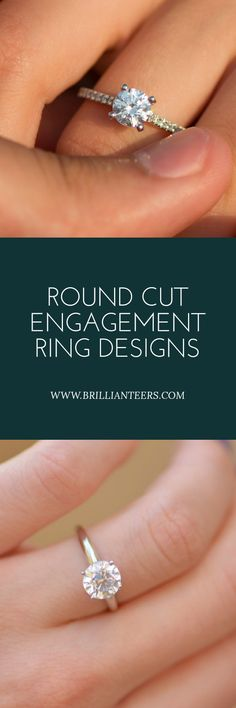 Find a variety of Round Cut Diamond Rings at affordable prices, at www.brillianteers.com