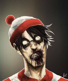 Character Drawings of Famous People | Zombie Cartoon Characters (11 pics)
