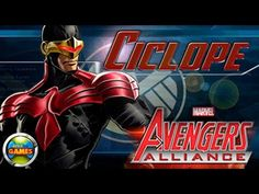 Ciclope Todos os Ataques Marvel Avengers Alliance