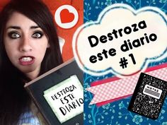 DESTROZA ESTE DIARIO #1 / WRECK THIS JOURNAL (tann medi) - YouTube