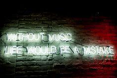 Frederick Nietzsche quote in beautiful handmade neon