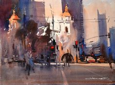 Eugen Chisnicean. Train station in San Diego, California.