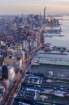 Lower Manhattan by Tom White