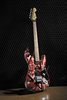 What I wouldn't give just to one day HOLD EVH's 'Frankenstrat'.even for just an hour! Guitar Solo, Music Guitar, Cool Guitar, Playing Guitar, Elvis Presley, Electric Ladyland, Band Wallpapers, Floyd Rose, Eddie Van Halen