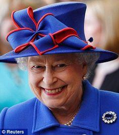 Queen Elizabeth II ... a fine example of positive aging!
