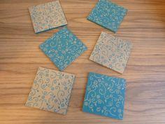 Conjunto de porta copos em madeira MDF. http://www.elo7.com.br/porta-copos-duas-cores/dp/5C7453