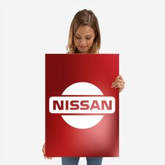 Nissan Logo Poster