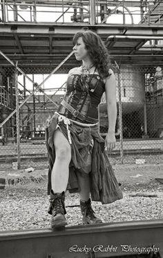 Steampunk Girl 03