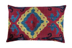 Ikat Pillows, Pillow Fabric, Ikat Fabric, Velvet Pillows, Cushions, Cotton Fabric, Pillow Inserts, Pillow Covers, Cotton Velvet