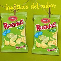 Fanáticos del sabor #Rizadas Limón.