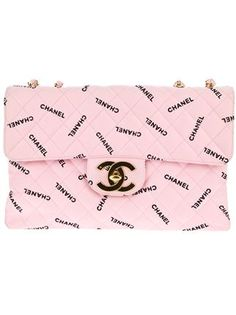 Chanel Vintage Quilted Logo Bag - - Farfetch.com