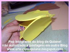ARTESANATO COM QUIANE - Paps,Moldes,E.V.A,Feltro,Costuras,Fofuchas 3D: Passo-a-passo Fofuxa com molde