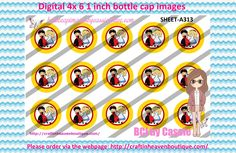 1' Bottle caps (4x6) Digital ALICE IN WONDERLAND AND QUEEN A313   CARTOONS/KIDS BOTTLE CAP IMAGES #cartoons #inspired #kids #bottlecap #BCI #shrinkydinkimages #bowcenters #hairbows #bowmaking #ironon #printables #printyourself #digitaltransfer #doityourself #transfer #ribbongraphics #ribbon #shirtprint #tshirt #digitalart #diy #digital #graphicdesign please purchase via link  http://craftinheavenboutique.com/index.php?main_page=index&cPath=323_533_42_54