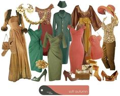 Retro glam soft autumn by True Colour International on Facebook