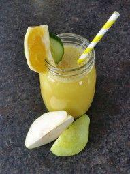 Mhhhh - gesund und lecker! Gurken, Orangen und Birnen sorgen für die ideale Entwässerung zwischendurch...