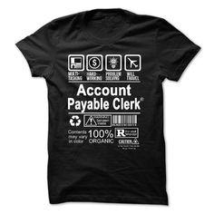 Best Seller - ACCOUNTS PAYABLE CLERK T Shirt, Hoodie, Sweatshirts: