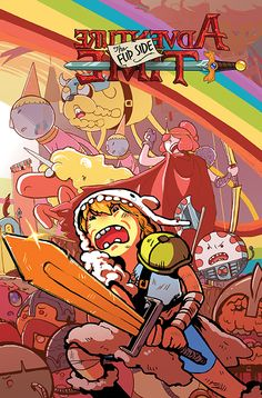 'Adventure Time Flip Side' #1 Coming In January By Paul Tobin, Colleen Coover And Wook Jin Clark