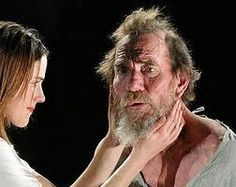 """Pete Postlethwaite on stage in """"King Lear"""" at the Young Vic. It wasn't the best production, but watching Postlethwaite perform a few feet away was incredible. Shakespeare Plays, William Shakespeare, Pete Postlethwaite, Young Vic, Old King, King Lear, Dementia, Daughter Love, Liverpool"""