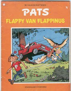 Dus werd TITS PATS. Overigens zijn het best leuke stripboekjes.