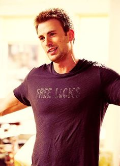 Chris Evans. Yes please!