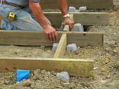 How to Building a Deck on the Ground Design ~ http://www.lookmyhomes.com/learning-more-than-how-to-building-a-deck-on-the-ground/