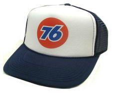 30cca5ca1f666 Union 76 gas Trucker Hat Mesh Hat Snapback Hat