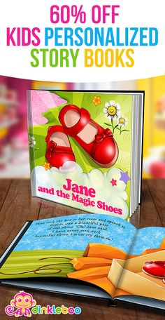 A story about your daughter receiving a special gift in the mail, which contains a magic pair of red shoes*. In the story, your child puts on the shoes* and goes on a magical adventure. Where will the shoes take her?