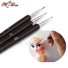Cheap tool, Buy Quality tools ups directly from China pen funny Suppliers: 3Pcs Cake Decorating Brush Set Fondant Face Mould Gumpaste Flower Coloration Tool Icing Cupcake Sugarcraft Dessert Pastry Tools