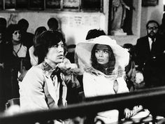 Mick Jagger and Bianca