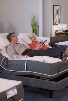 Upgrade your rest and relaxation with the Rejuven8 Adjustable Base collection, all featuring adjustable head and foot movement for finding the perfect position whether sleeping or just relaxing. #denvermattress #adjustablebed #adjustablemattress #sleep #home #bedroom Adjustable Base, Improve Circulation, Sleeping Through The Night, Rest And Relaxation, Sleep Better, Just Relax, Denver, Mattress, Bedroom