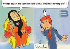 Swamiji Magic Cartoon