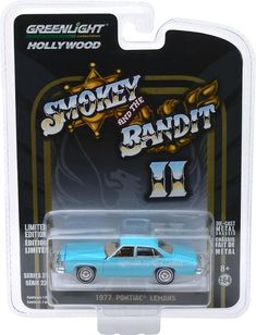 Greenlight 1//64 Smokey /& The Bandit 1977 Pontiac T//A Trans Am HOLLYWOOD 44710-A