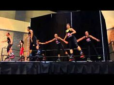 Kangoo Jumps demonstration-Jump Boots Fitness and LadyFit USA
