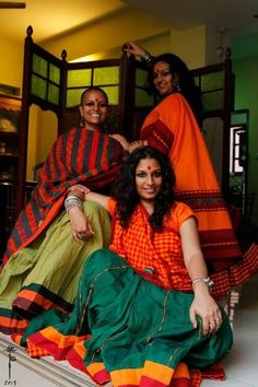 MORA by Ritika : They might be expensive but they really are some of the most gorgeous sarees I own. Heard they are coming will a collection Oct 2107 Chania Choli, Silk Anarkali Suits, Grey Saree, Saree Draping Styles, Sari Design, Indian Fabric, Traditional Sarees, Handloom Saree, Indian Beauty Saree