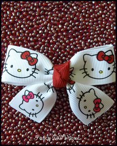Hello Kitty hair clip hair accessory hair bow for girls