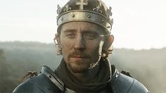 Tom Hiddleston as King Henry V in The Hollow Crown.