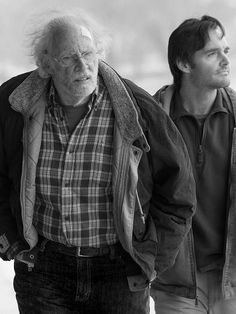 +Does he have Alzheimer's? -No, he just believes what people tell him. +That's too bad.  Nebraska