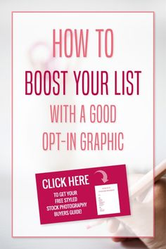 How to Boost Your Email List with a Good Opt-in Graphic! Make one easily and for free using Canva! // Miranda Nahmias Design