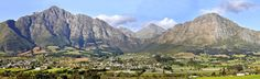 Franschhoek Plan Your Trip, Continents, South Africa, Mount Everest, Natural Beauty, African, Wineries, Mountains, Travel