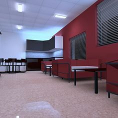 My first lighting project. It's kindergarden's breakroom. #Dialux #DialuxEvo #lighting #light